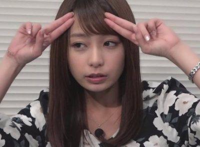 宇垣美里アナがおまえらにガチ投げキッス<GIF動画>なんだこの可愛さはwwwwwwww