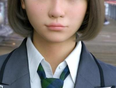 可愛すぎる3DCG女子高生「Saya」の動く姿が初披露!