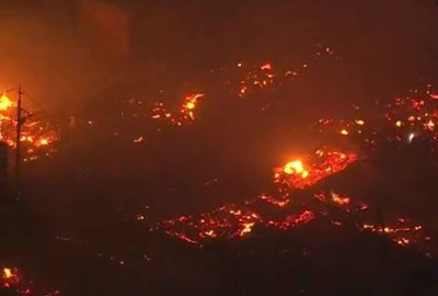 糸魚川大火に燃えずに耐え残った「奇跡の一軒家」が話題 → 画像