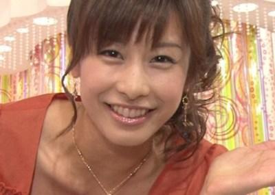 垂れ乳を愛する人に朗報 加藤綾子(カトパン)のオッパイの位置だいぶ垂れてきたと話題に→ 画像