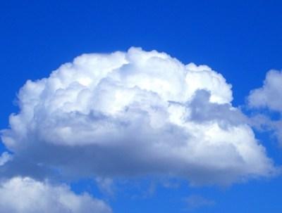 この1年で撮った『雲』の画像を投稿するよ
