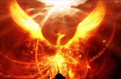 【フェニックス】新潟の空に出現した『不死鳥』が想像以上にカッコいいwwwwww