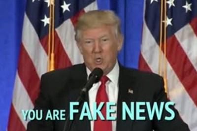 【呆れる】流行語大賞『フェイクニュース』の説明もまたフェイクだった