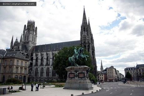 Pourquoi Rouen est une ville tellement attrayante?