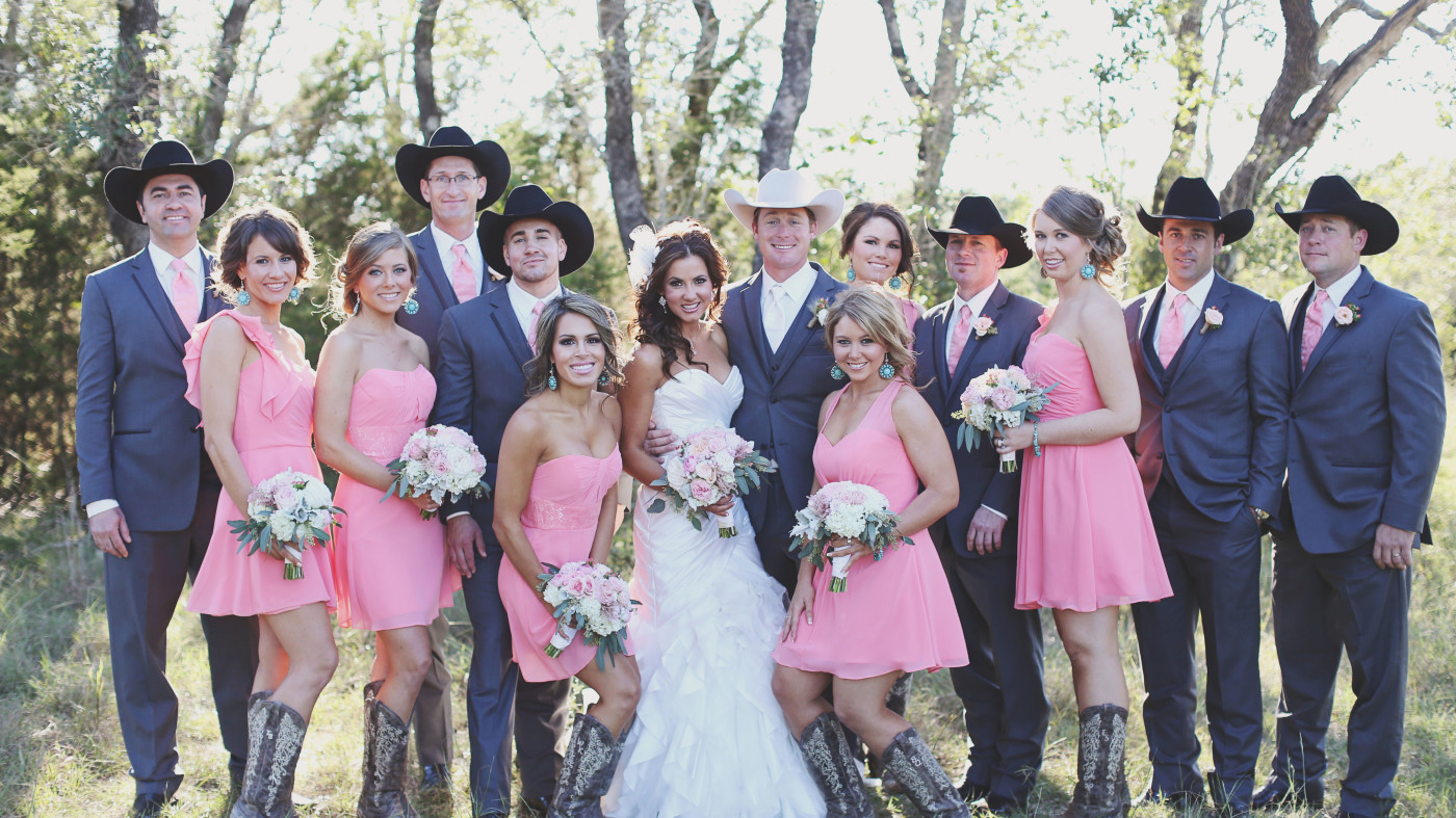 an outback out west wedding cowboy wedding dresses An Outback Out West Wedding