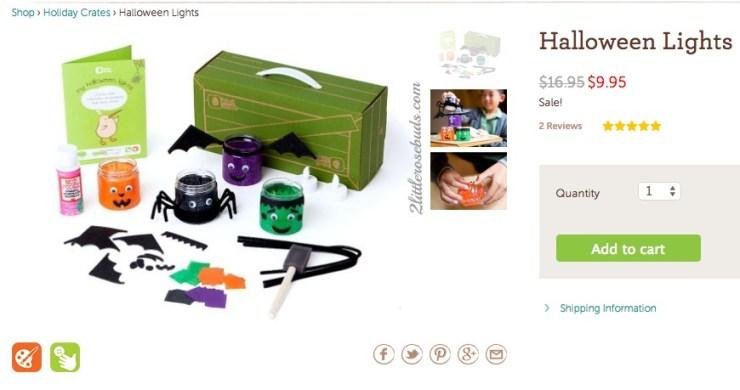 Kiwi Crate Halloween Lights kit
