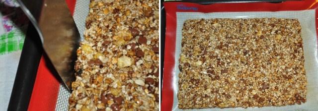 barrinha de granola arrumar