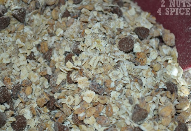 barrinha de granola resultado mistura