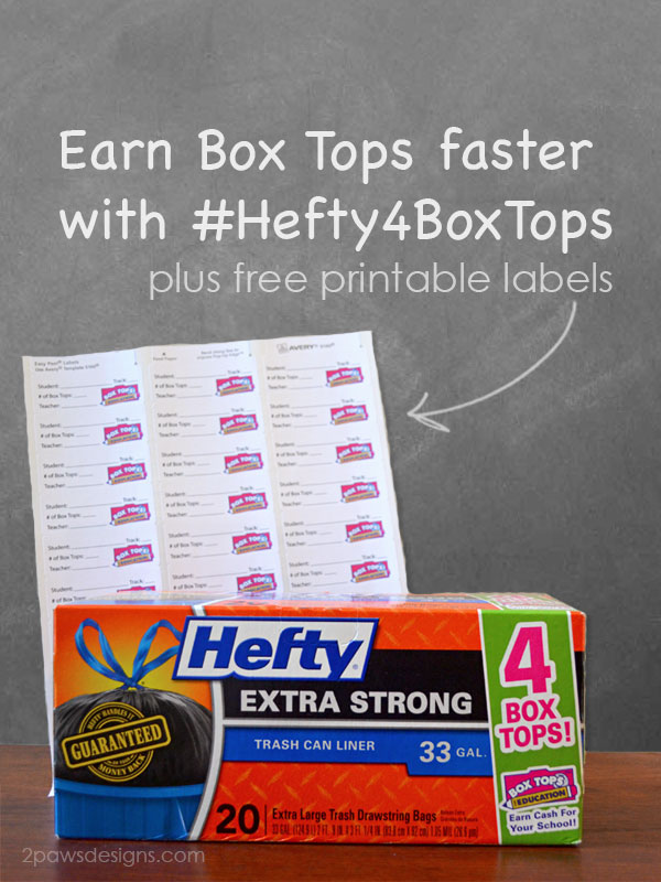 Earn Box Tops Faster with Hefty