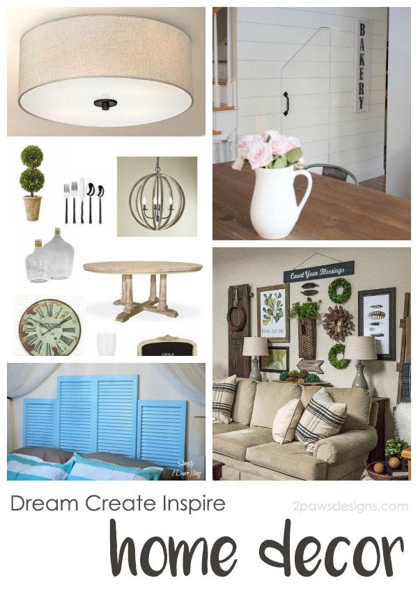 Dream Create Inspire: Home Decor Inspiration