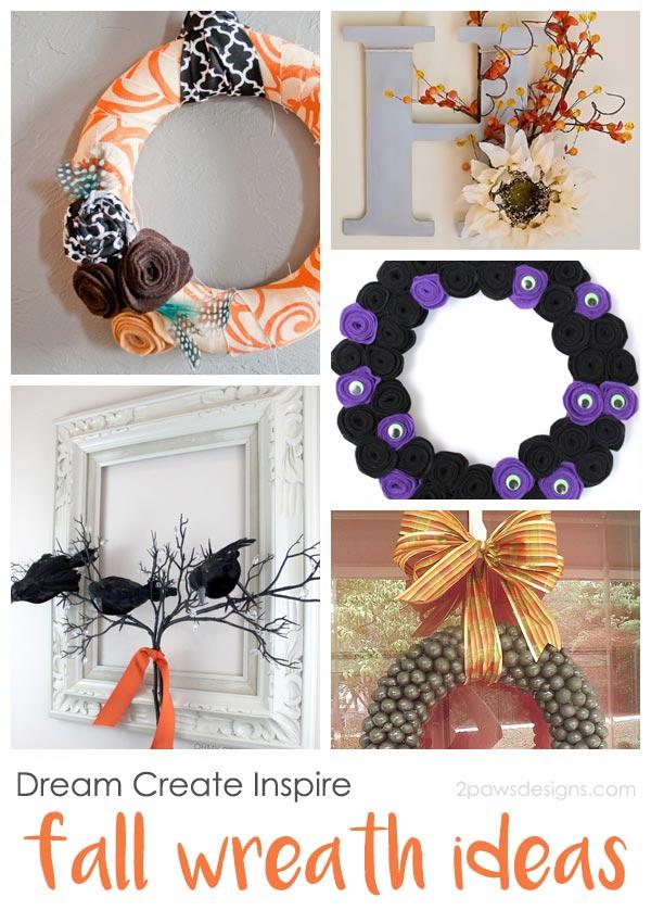Dream Create Inspire: Fall Wreath Ideas