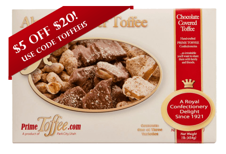 Prime Toffee Box of Toffee