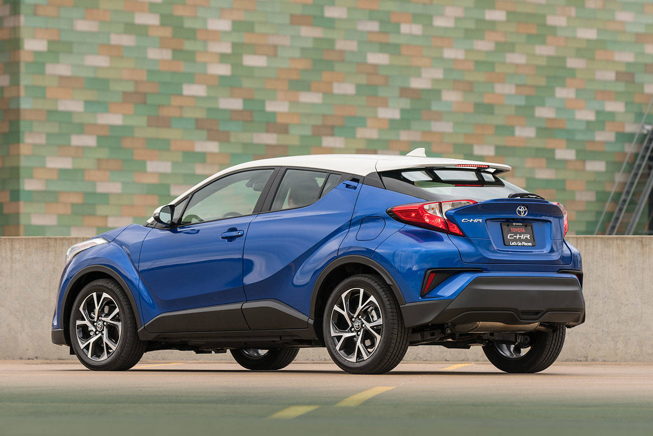 The All-new 2018 Toyota C-HR Is A Subcompact With An SUV Ride