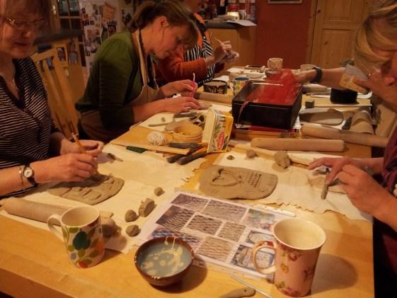 Pottery class