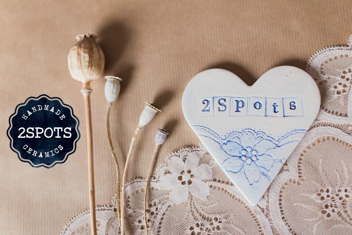 2Spots Lacey Heart