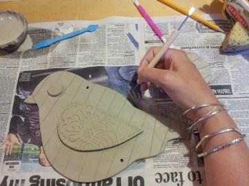 Pottery Bird