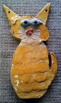 Cat Hanging Tile