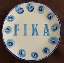 ladies night fika plate