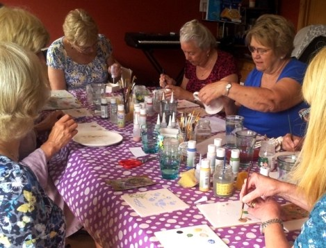 WI Pottery Painting
