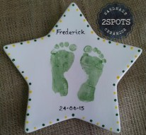 Footprint Star Plate