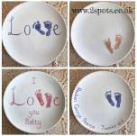 Baby Footprint Platters