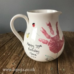 70th Birthday Jug