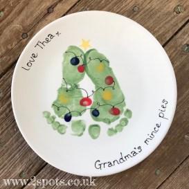 Christmas Tree Mince Pie Plate