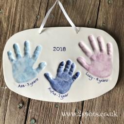 Imprint three children