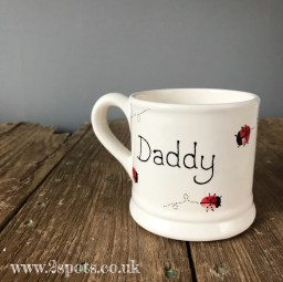 Toeprint Ladybird Mug for Daddy