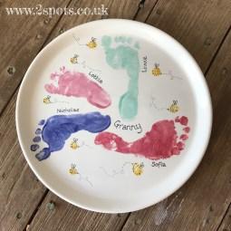 Family Footprint Plate