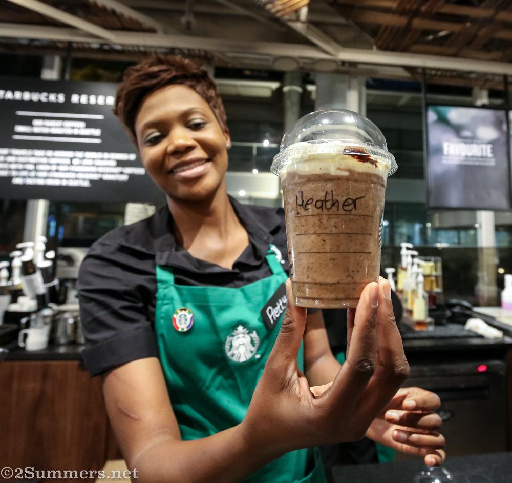 Frappacino from Starbucks