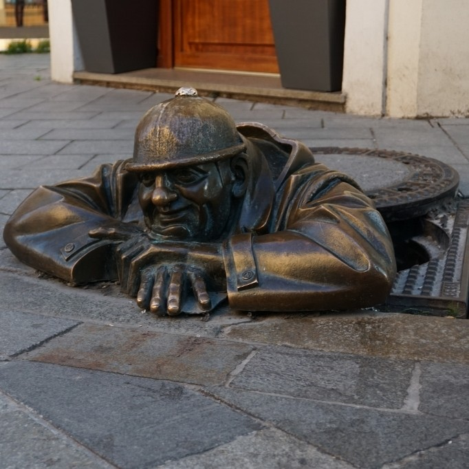 Exploring the Small City of Bratislava
