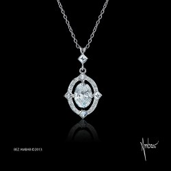 Small Of Diamond Pendant Necklace