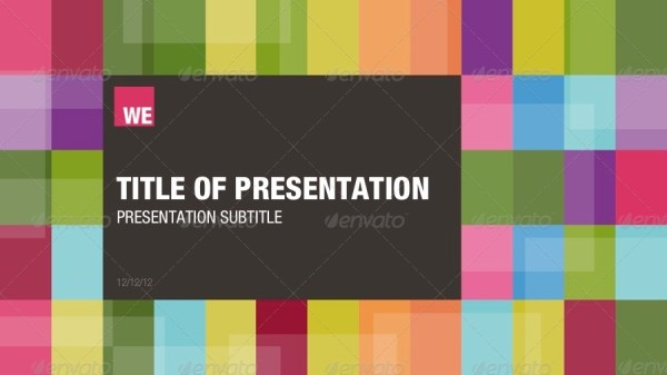 The Colour Powerpoint Template