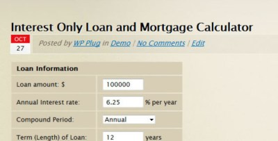 interest only mortgage qualification calculator