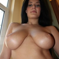 Not too sure of this busty babe's name, but dayom woman,...