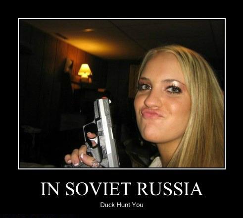 Running Gag - Sovjet-Russia