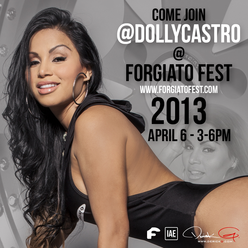 LADIES: Dolly Castro and Leyaneth Ricardo at Forgiato Fest 2013