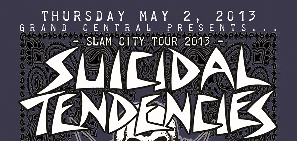 EVENT: SUICIDAL TENDENCIES and SICK OF IT ALL