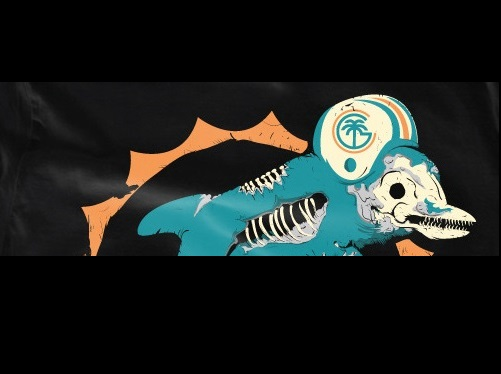 GEAR: Our farewell to an old friend by Cushy Gigs - Old Miami Dolphins logo