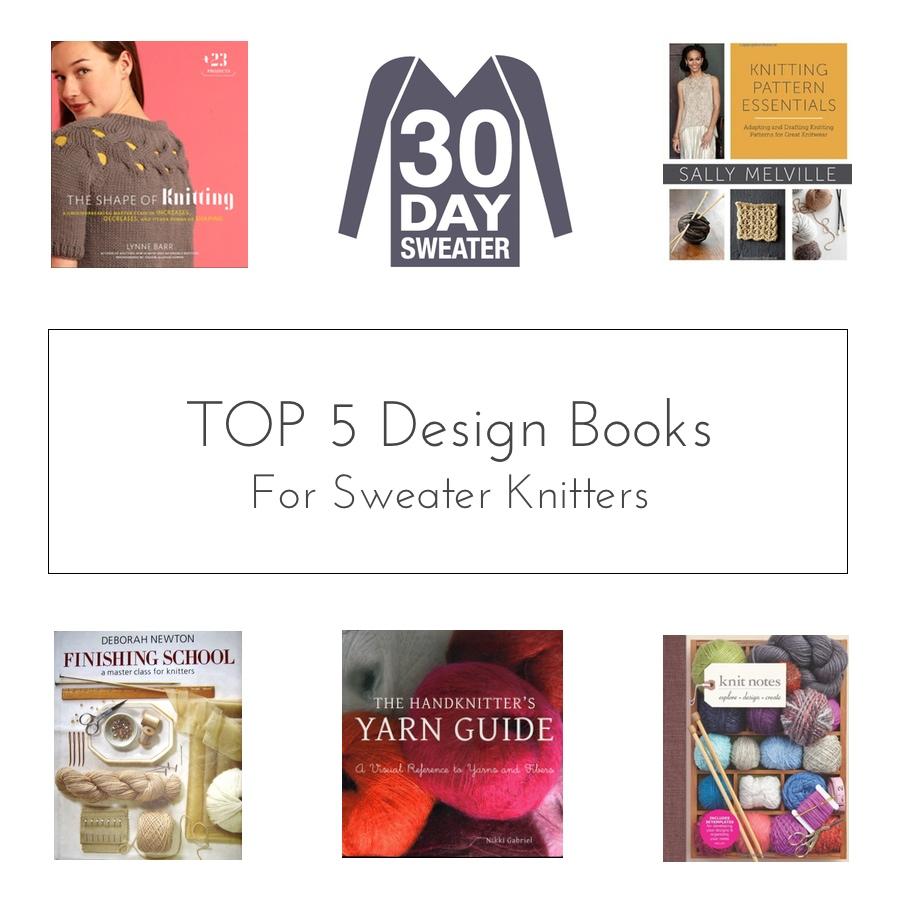 Top 5 knitting design books