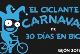 """Banner de """"El Ciclante Carnaval de 30DEB"""" de Gijón - 30 Días en Bici"""