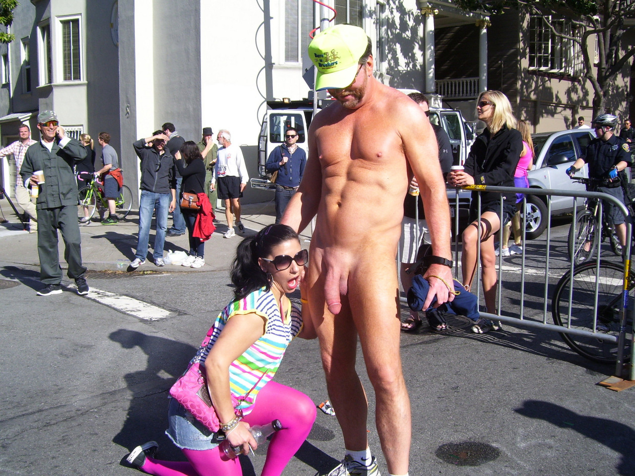cfnm girls touching erection