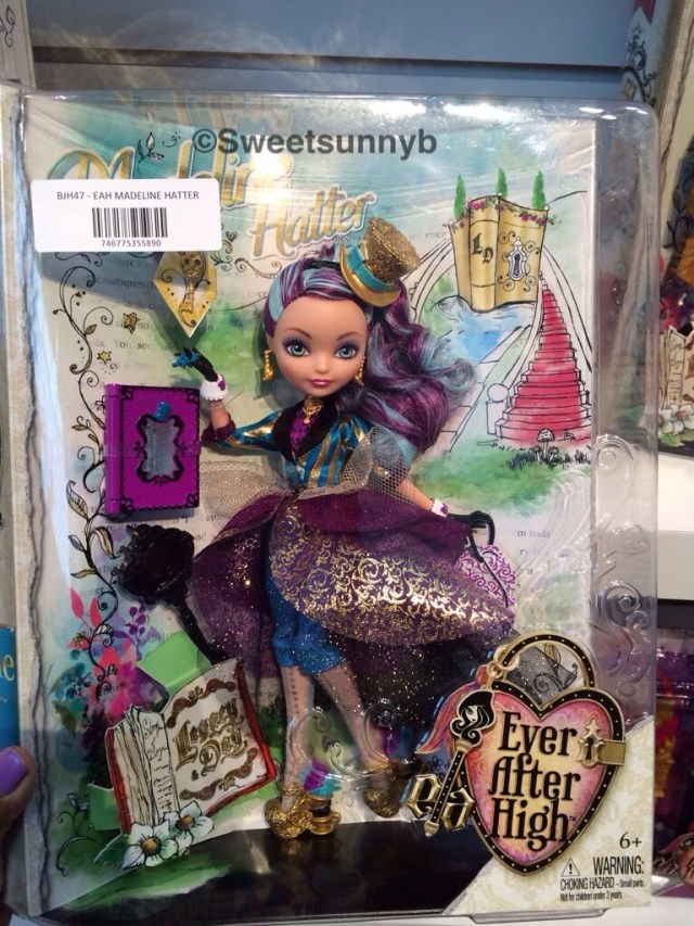 Legacy Day Madeline hatter Ever After High EAH Toy Fair