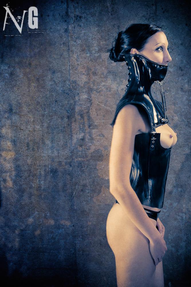bondage corset automatic