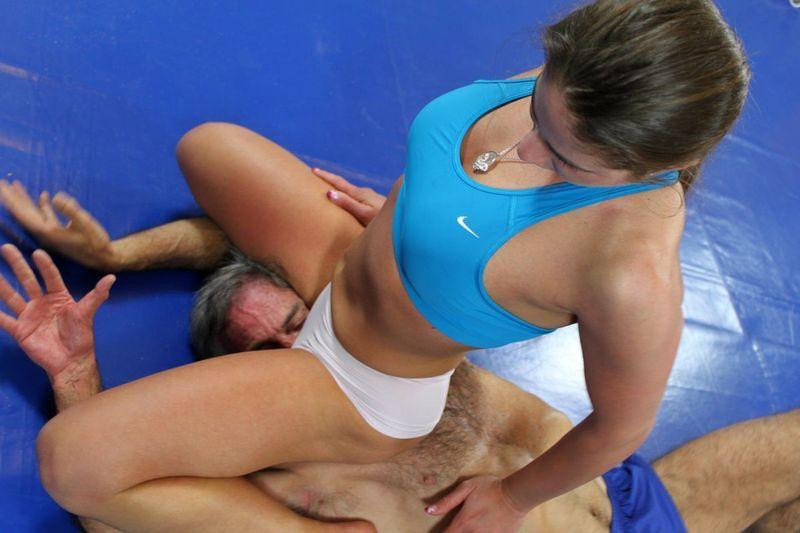 erotic mixed wrestling