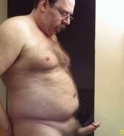 bears belly big fat hairy