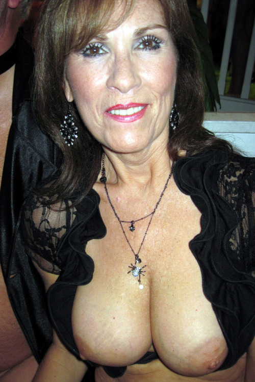 proud granny nighty cleavage