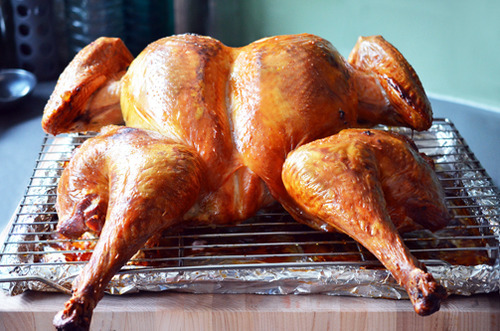 Paleo Brined and Roasted Whole Turkey