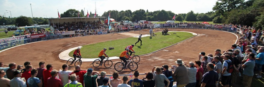 The Coventry track at the 2013 British Final, restored to former glories.